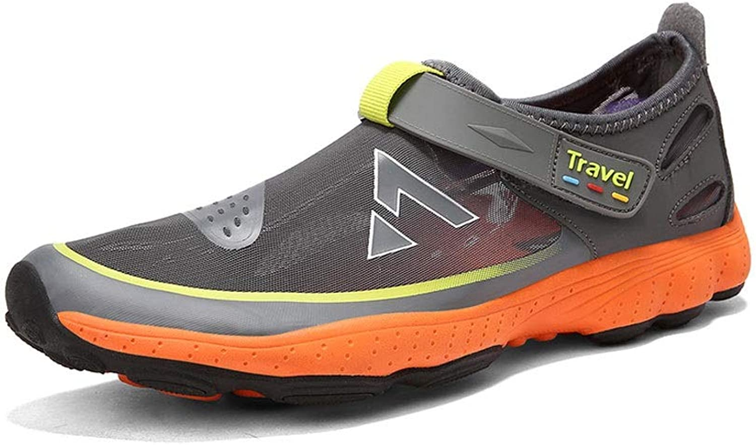 Ailj Water shoes, Men's Quick-Drying Diving shoes Breathable Non-Slip Drifting shoes 2 Colours