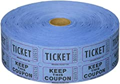 "2,000 tickets per roll, consecutively numbered Each ticket is 2"" long and 1"" wide Made in the USA--The way it should be by Indiana Ticket--If it doesnt say INDIANA TICKET, its a fake, please report it to Amazon immediately! The back of the ""ticket"" p..."