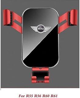 Mini Cooper Countryman F60 R56 R55 R60 F55 F54 R61 Accessories Car Car GPS Stand Decoration (Color : Orange)