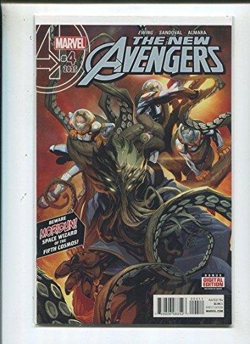 The New Avengers #4 Near Mint 2015 Beware Moridun Marvel...