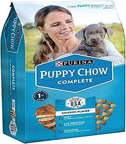 Purina Puppy Chow Dry Dog Food, Complete, Chicken Flavor, 4.4 Lb Bag