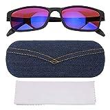 Gafas correctivas, para daltónicos Gafas correctivas Rojo Verde Ceguera Debilidad Mejora de la Vista