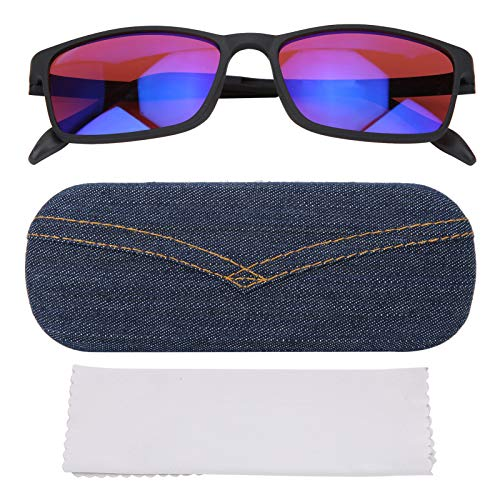 VGEBY Color Blind Korrekturbrille, Rote Grüne Farbblind Brille Korrektur Verbesserung Männer Frauen