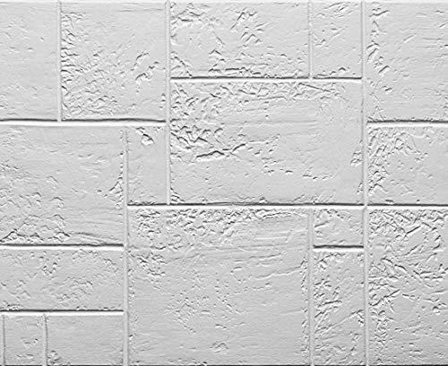 Muroform - Panel de imitación de piedra reconstruida de Castle Rock de poliestireno, medidas 150 x 50 cm, grosor 2 cm