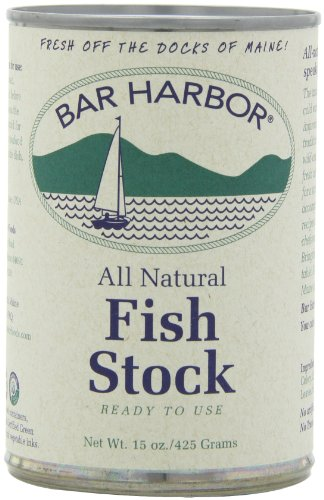 Bar Harbor Stock 15 Pack of PACKAGING MAY VARY, Fish, 90 Ounce, (Pack of 6)