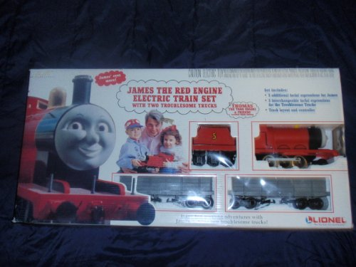 Bachmann Industries Thomas & Friends - James The Red Engine with Moving Eyes - Large 'G' Scale Locomotive