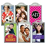 Jaymo BagTag Personalized Luggage Tag, Create your own custom print at home - Also displays regular 2.1 x 3.5-Inch business cards