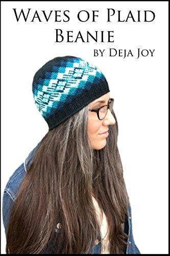 Waves of Plaid Crochet Beanie (English Edition)