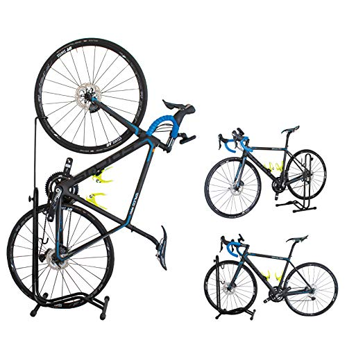 GORIX(ゴリックス) 自転車 スタンド [縦置き 横置き 掛置き 3タイプ] メンテナンス 簡易スタンド (ホイール...