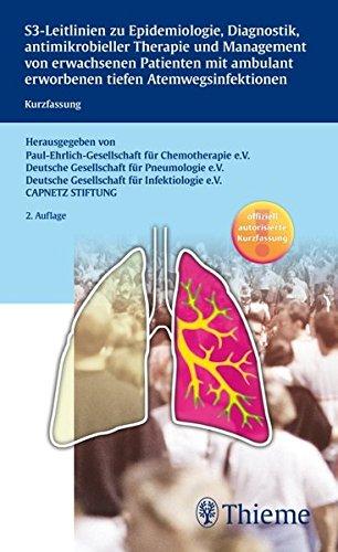 S3-Leitlinie der Paul-Ehrlich-Gesellschaft für Chemotherapie, der Deutschen Gese: Kurzfassung