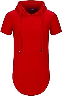 Best red short sleeve hoodie Reviews