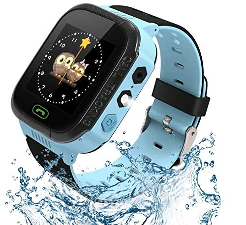 Kids Smart Watch, Enow Waterproof LBS Tracker Children Smartwatch for 3-12 Years Old, with SOS Call...