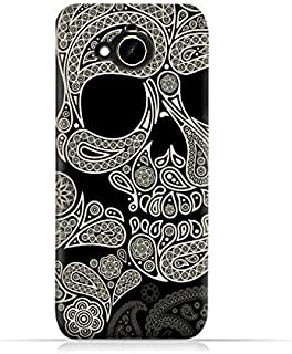 HTC Desire 10 Compact TPU Silicone Protective Case with Skull & Piesley Design