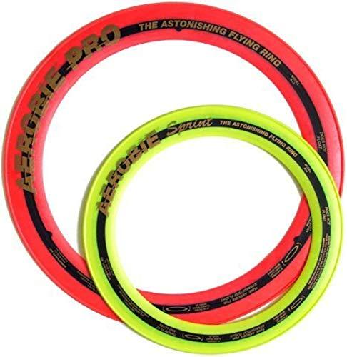 Aerobie Pro Ring 13quot amp Sprint Ring 10quot Set Random Assorted Colors