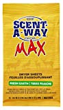 Hunters Specialties Scent-A-Way Dryer Sheets Earth (15 Pack)