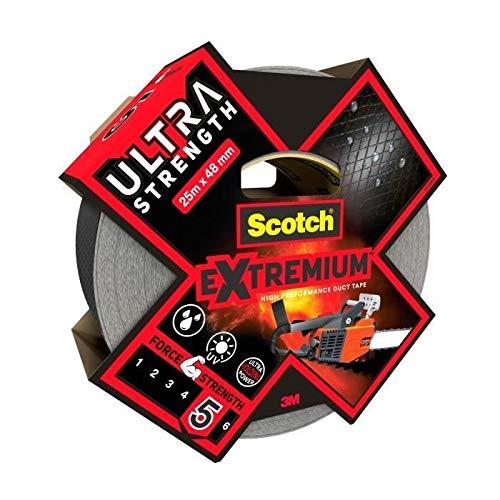 Scotch - Cinta adhesiva para reparación de invernaderos y cristales, 25 m...