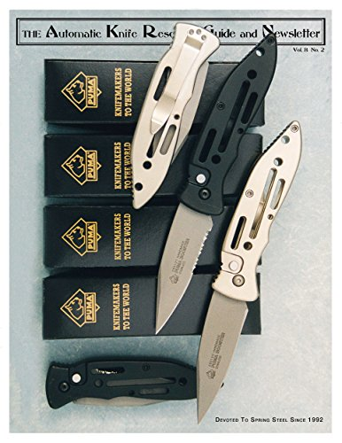 The Automatic Knife Resource Guide and Newsletter Vol 8 No. 2 (English Edition)