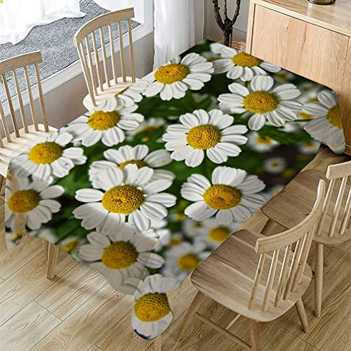 Comely Flower Pattern Table Cloth Rectangular Tea Table Cover Dining Home Decor