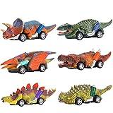 Dreamingbox Juguetes Niños 2-8 Años, Coches de Juguetes Regalo Niña 2-8 años Dinosaurios Juguetes para Niños de 2 3 4 5 6 Años Regalos para Niños 2-8 Años Juguetes Niña