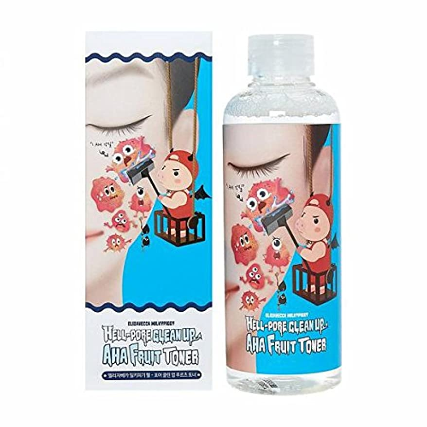 (3 Pack) ELIZAVECCA Hell-Pore Clean Up AHA Fruit Toner (並行輸入品)
