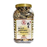 Fuyuki Dried Mushrooms Dried Shiitake Mushrooms Dehydrated Mushrooms 16 oz., 4-5cm Premium Top Grade...