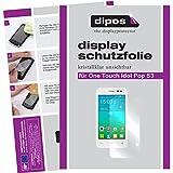 dipos I 2X Schutzfolie klar kompatibel mit Alcatel One Touch Pop S3 Folie Bildschirmschutzfolie