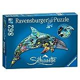 Ravensburger dolfijn silhouette