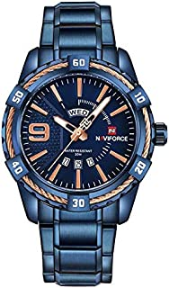 Naviforce Dress Watch For Men Analog Stainless Steel - NF9117BE