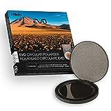 Cokin CV164-95A - Filtro polarizador C-PL EVO (95 mm, para portafiltros EVO, tamaño M/Optical con Rosca de 95 mm), Color Negro