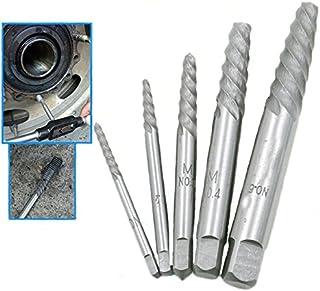 5ピース 破損したネジの除去剤 ハンド ツール大工 ビス頭抜く専用工具