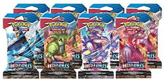 Pokemon Sword and Shield Battle Style Sleeved Boosters 1 random pack