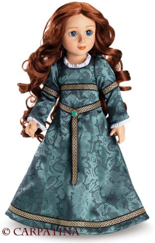 Rowena  Celtic Princess 18 inch Vinyl Slim Doll by Carpatina Dolls