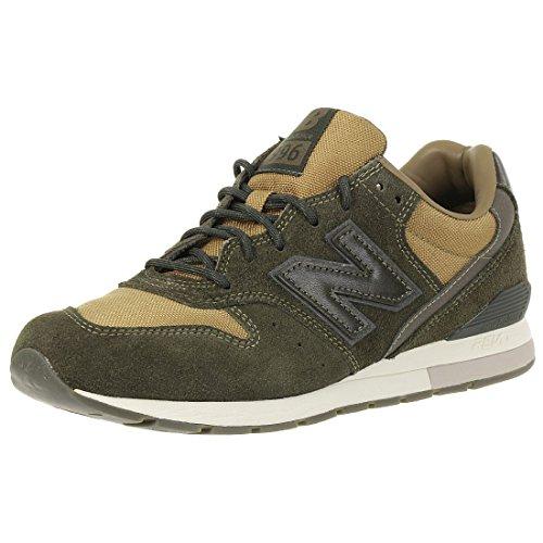 New Balance Unisex-Erwachsene MRL996-MT-D Sneaker, Grün (Oliv/Dunkelbraun Oliv/Dunkelbraun), 40 EU