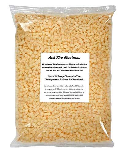 High Temperature Cheddar Cheese - 5 lb. Bag