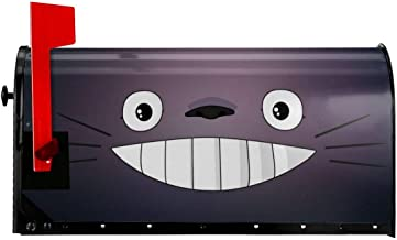 My Neighbor Cartoon gezicht brievenbus Covers Postpakket Magnetische Wrap Postbox Outdoor Brievenbus Inch EMail Originele ...
