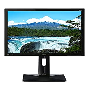Acer CB241HYK bmjdprx 23.8″ IPS Ultra HD 4K (3860 x 2160) 100% sRGB Monitor with Tilt/Swivel/Pivot/Height Adjustment and Built-in Speakers,Black