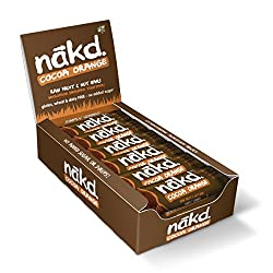 ALL NATURAL – These healthy snack bars are made with 100% natural ingredients, just fruit and nuts smooshed together! GLUTEN FREE – Nakd Cocoa Orange is a delicious wheat free and gluten free fruit and nut bar. HEALTHY SNACK – One of your five a day,...