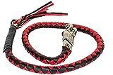 Red & Black Get Back Whip