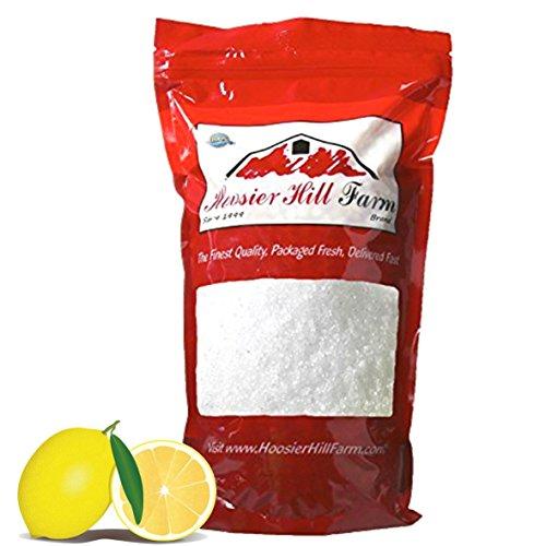 Citric Acid (1kg) Premium Zitronensäure Lebensmittelqualität E330 Wasserfrei von Hoosier Hill Farm