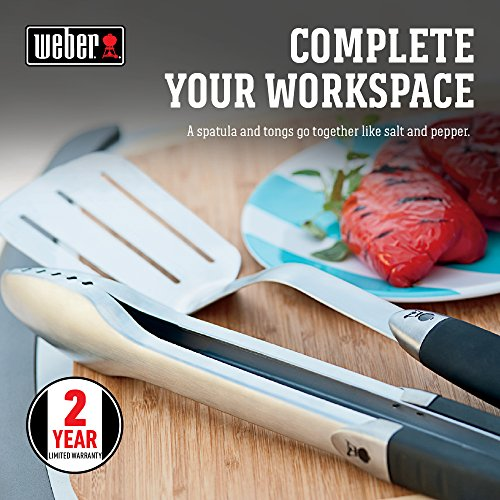 Weber Available 6625 Original 2-Piece Stainless Steel Tool Set, ONE SIZE