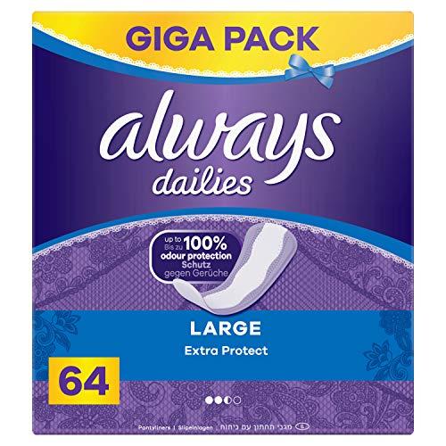 Always Extra Protect Large Slipeinlagen, 64 Stück