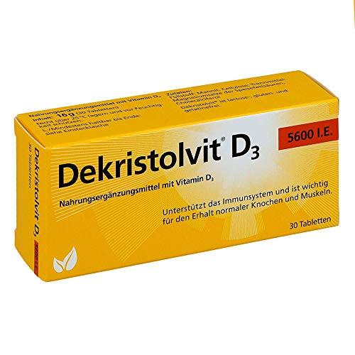 DEKRISTOLVIT D3 5.600 I.E. Tabletten 30 St