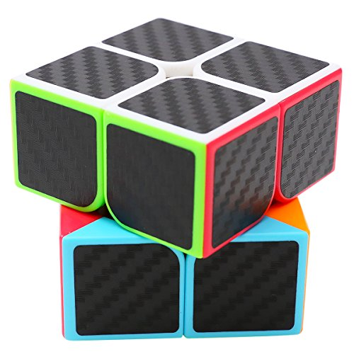 LSMY Speed Cube 2x2x2 Carbon Fiber Sticker