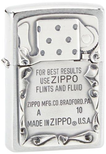 Zippo Zippo Feuerzeug 2001660 Use Emblem Benzinfeuerzeug, Messing Map(language_tag -> De_de)
