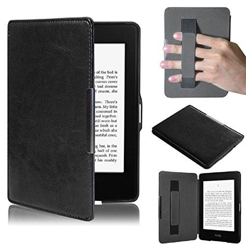 Amison Kindle Paperwhite 5, Smartshell Hülle Case Filz Sleeve für Amazon Neue Kindle Paperwhite 5 (Schwarz)