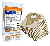 10 bolsas de aspiradora adecuadas para Parkside PNTS 1300 B2 C3 D3 1400 B2 C1 D1 E2 F2 G3