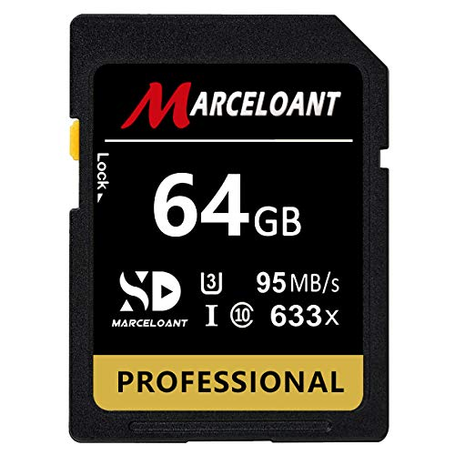 MARCELOANT Professional 633X Memory Card