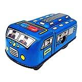 KESOTO Vintage Modello di Auto della Polizia Wind-up Clockwork Stagno Giocattolo da Collezione Regalo Blu
