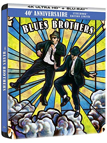 The Blues Brothers [4K Ultra HD + Blu-Ray-Édition Limitée SteelBook 40ème Anniversaire]