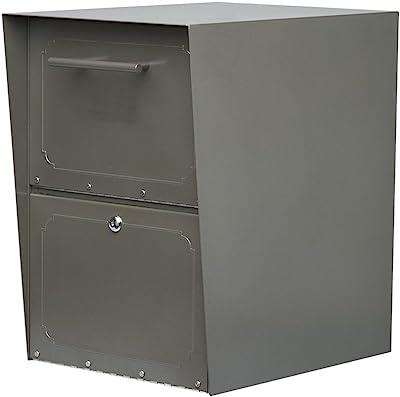 Architectural Mailboxes Oasis Drop Box, Graphite Bronze
